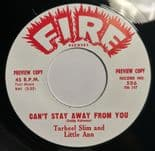 45Re ✦ TARHEEL SLIM & LITTLE ANN ✦ JOHNNY CHEF ✦ Killer R&B Movers Twin Spin ♫